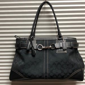 Coach Tote 👜 10248 large Hampton belted 👜